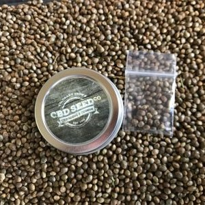cbd seed co, hemp seeds, packaging