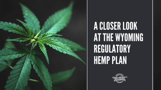 wyoming regulatory hemp plan