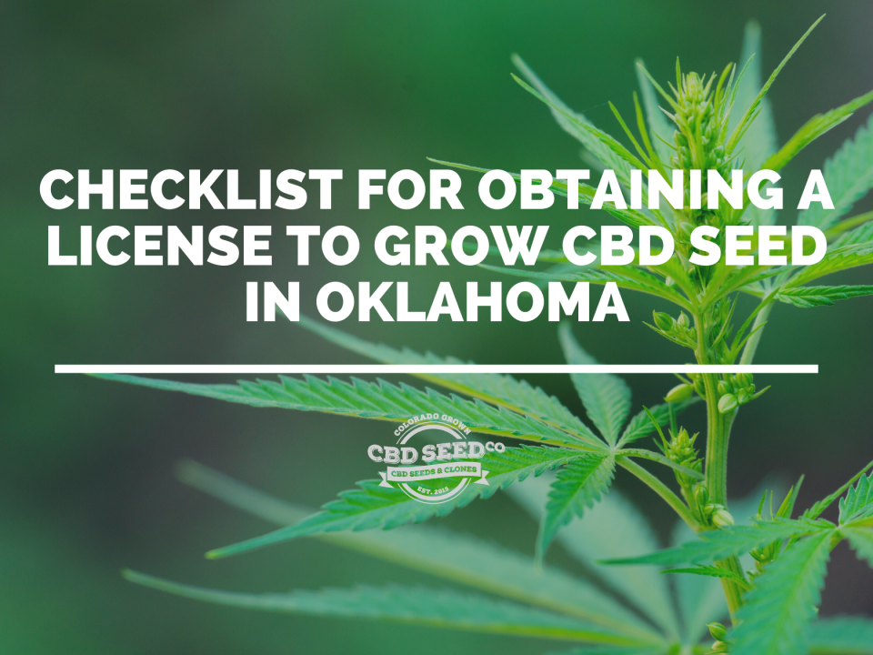 license cbd hemp seed oklahoma